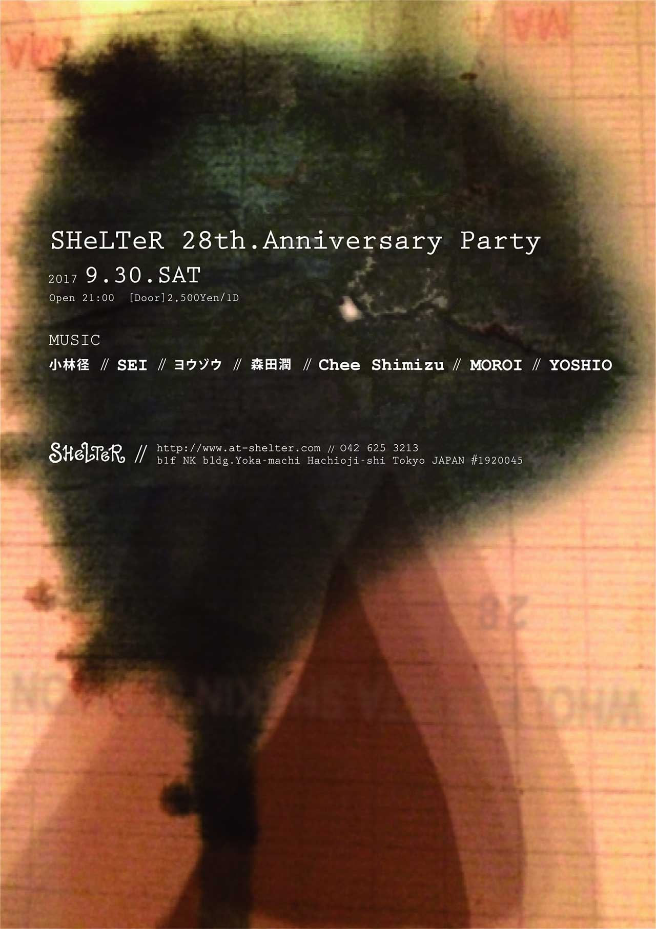 SHeLTeR 28th.Anniversary Party